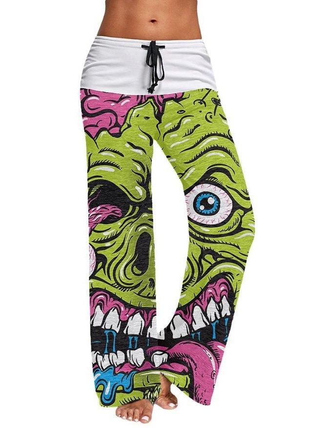 Zombie Comfy Palazzo Yoga Pants -