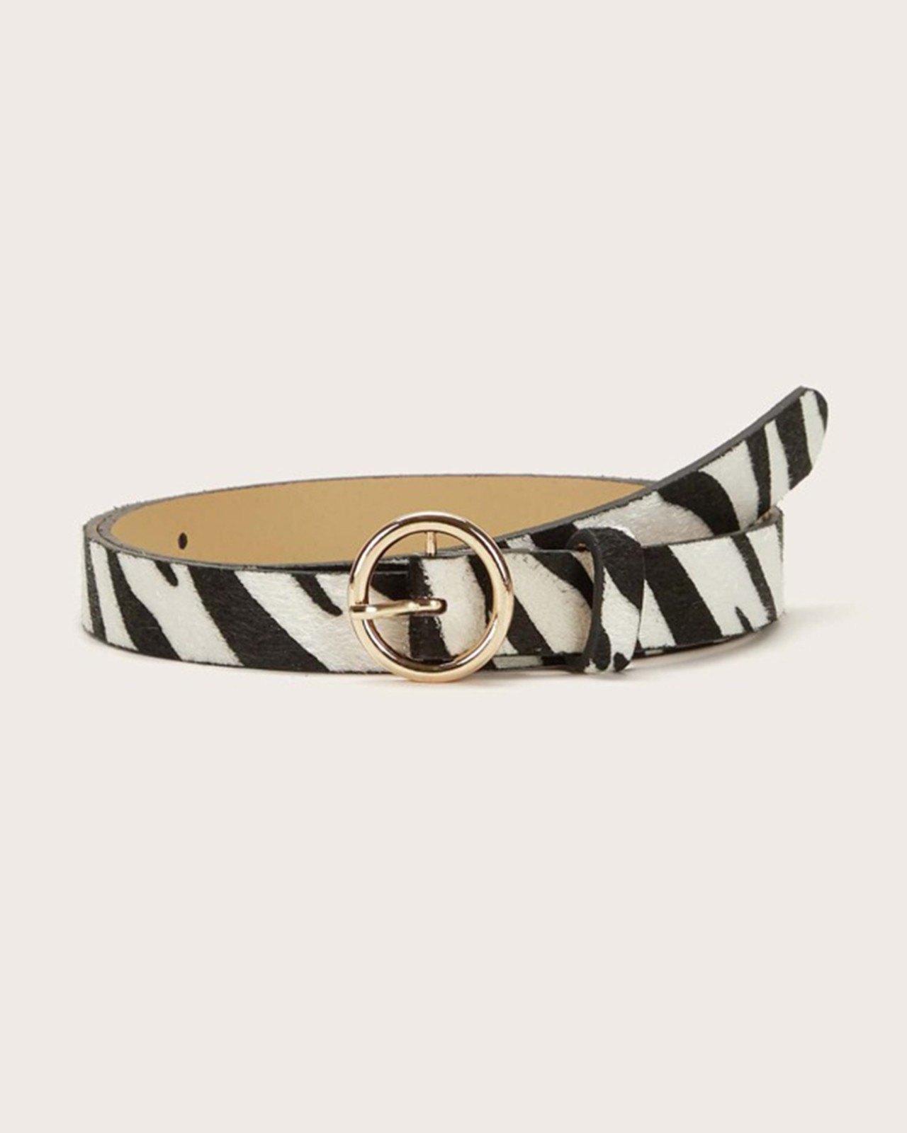 Cintura motivo zebrato - Mixcolor ONE SIZE