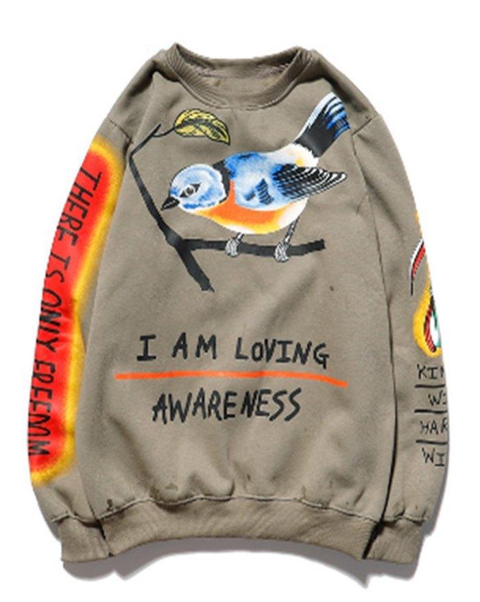 Men's Printed Sweatshirt -