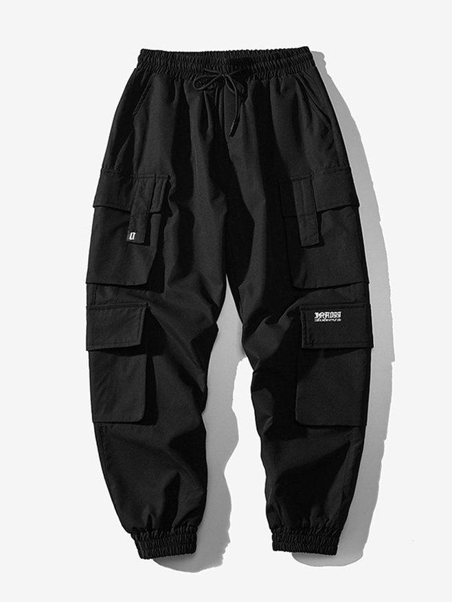 Men's Sandstone Cargo Pants - Black M