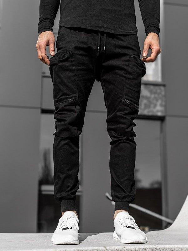 Men's Zipper Pocket Cargo Pants -