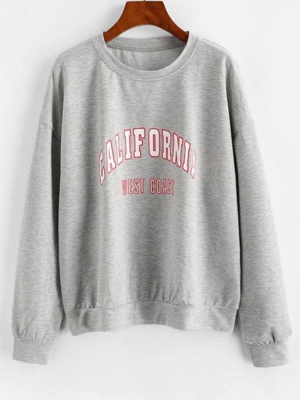 California West Coast Sweatshirt - Gray 2XL