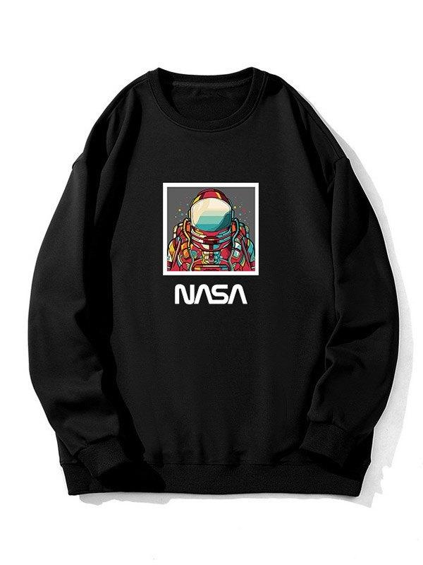 Men's Aerospace Graphic Sweatshirt - Black S