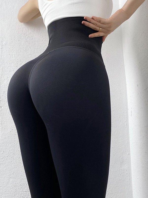 Plush Lined Butt Lift Corset Legging -