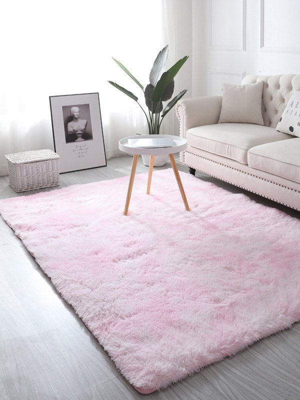 Ombre Washable Plush Carpet - As The Picture 80*200
