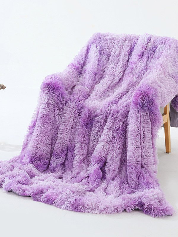 Plush Lounge Blanket - As The Picture 130*160