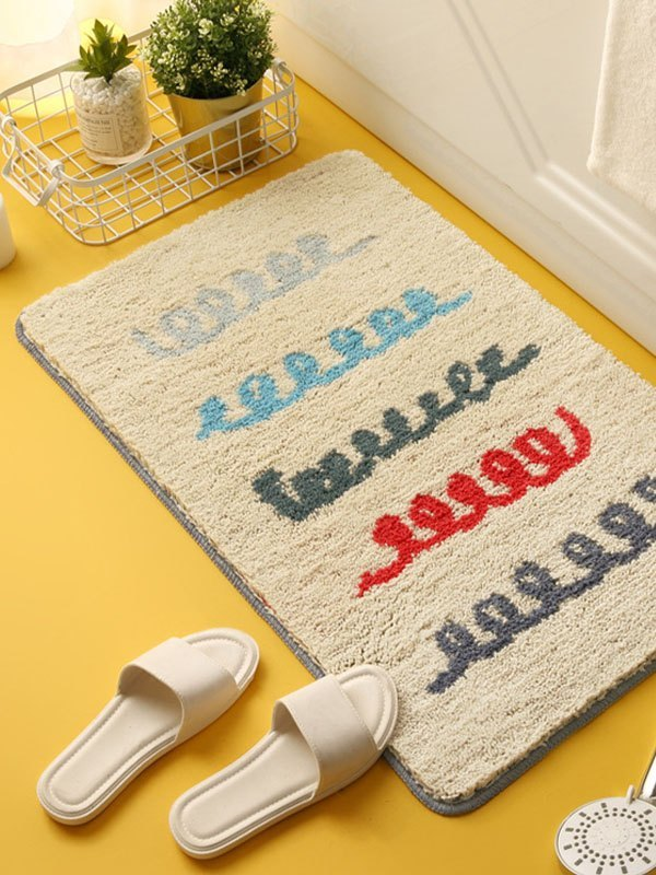 Printed Rectangle Carpet -  50*80
