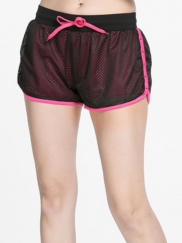 Lined Quick-Dry Active Shorts - Beetroot Purple L