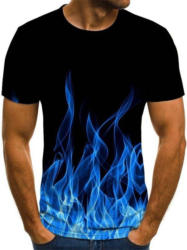 Men's Flame Print Tee -