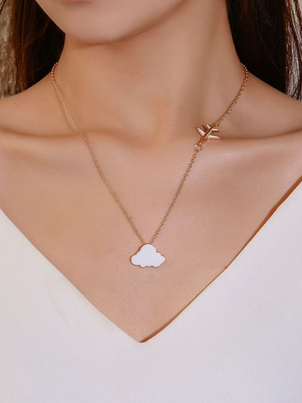 Collana Over The Cloud - Bianca ONE SIZE