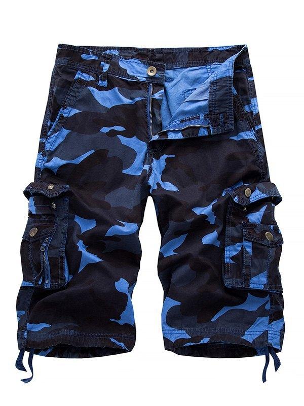 Men's Camo Cargo Shorts -
