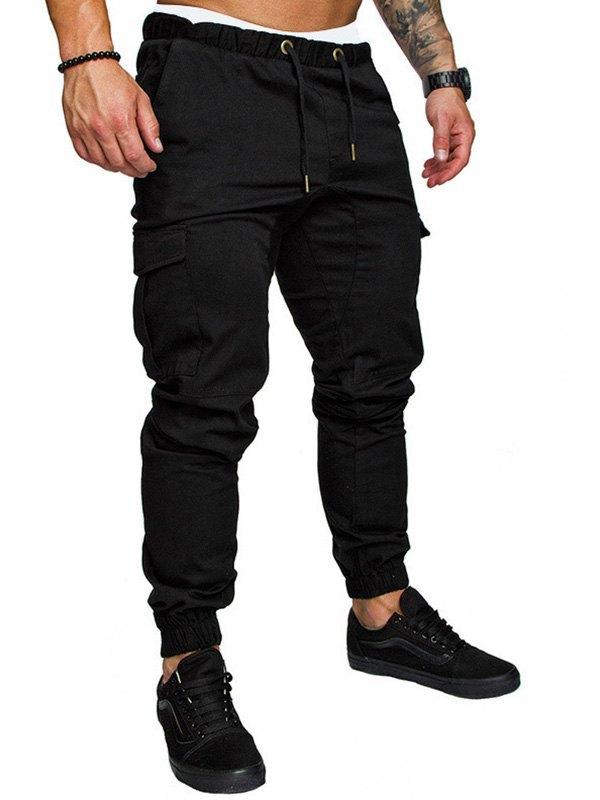 Men's Drawstring Cargo Pants -