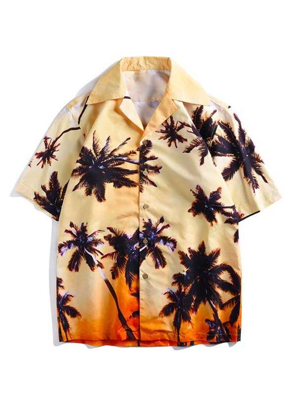 Men's Palm Tree Hawaii Shirt -
