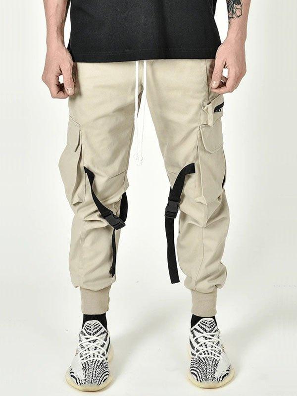 Men's Pocket Tapered Cargo Pants - Khaki XL