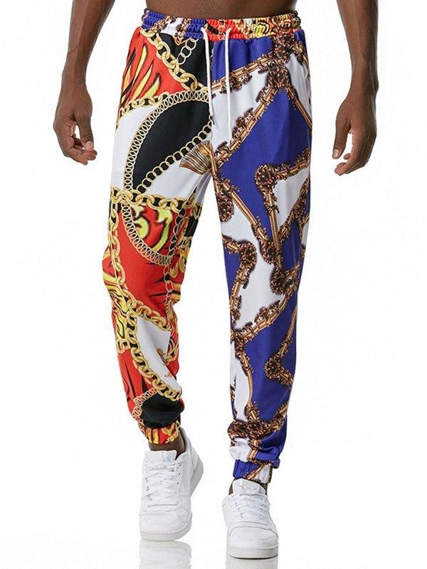 Pantalon de jogging à imprimé baroque pour homme -